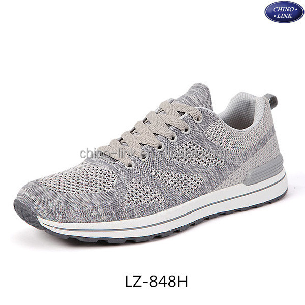 2016 breathable mesh upper men running shoes stock shoes large size