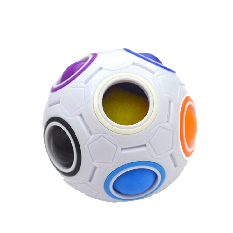 Magic Rainbow Ball Creative Toys Cube For <strong>Kids</strong> Educational