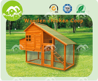 Top quality wood chicken house for promotion, large chicken coop