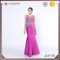 New model Custom Made Fishtail Evening dress Woman dress Supplier