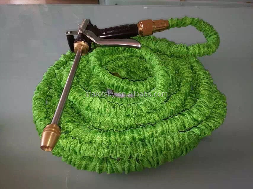 TPE TPR DOUBLE-LAYER LATEX 25FT 50FT 100FT EXPANDABLE MAGIC FLEXIBLE GARDEN WATER HOSE
