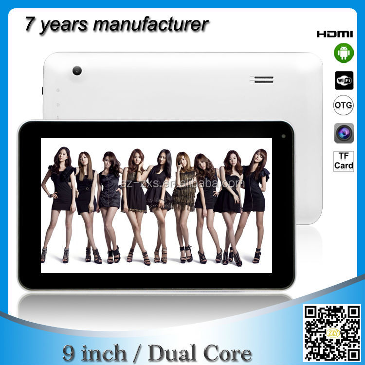 bulk wholesale 9 inch mid computer android 4.2 dual core smart android tablet laptop distributorsr ZXS-9-W2
