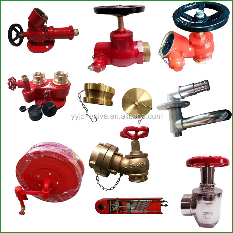 2.5 Fire Fighting Equipment Gost Type Landing Hydrant Valve