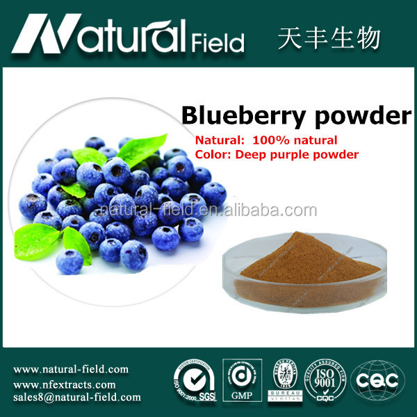 Blueberry benefits dehydrated food dried blueberries powder