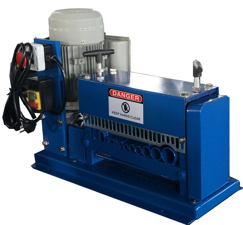top sales USD239/set! automatic copper wire stripping machine for waste copper wires in cable manufacturing equipment