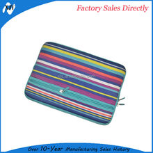 neoprene felt leather laptop sleeve case