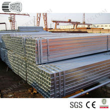 Mild Steel 40x40mm Galvanized Square Steel Tube and Pipes