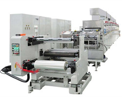 vertical type single/double coating machine for li-ion battery electrode production