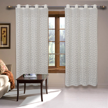 ready made embroidery dolly organza room window curtains for home