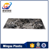 Indoor Marble Plastic Composite PVC Commercial Bathroom Wall Panels