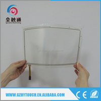 High-Performance 4 Wires Resistive Glass+Film Flexible Lcd Touch Screen 5.7 Inch