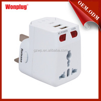 2014 The Most Welcome Female to Male Electrical Travel Plug Adapter