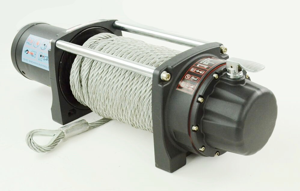 off road 9500lb electric winch DC 12v/24v for jeep truck with CE approved