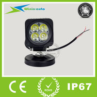 4inch 12W 4x4 cheap led work lamp 12v 12w auto led working light for harley davidson WI3123