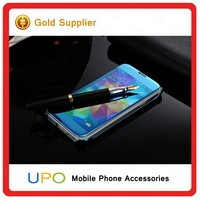 [UPO] New Luxury Clear View Flip Case Mirror PC Hard Phone Cover Smart Back Case For Samsung Galaxy S5