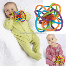 0-12 Months Baby Toy Baby Ball Toy teether