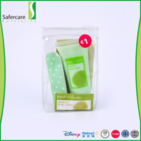 Private label personal whitening fruity travel hand lotion gift set