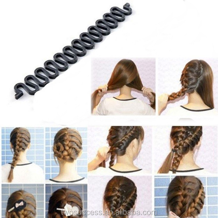 Hair Braiding Braider Hair Style Maker Tool Roller With Magic Hair Twist Styling Bun Maker Headwear b.jpg