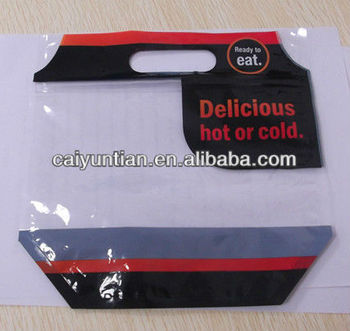 High transparency food grade beautiful custom designed food packaging bag with ziplock