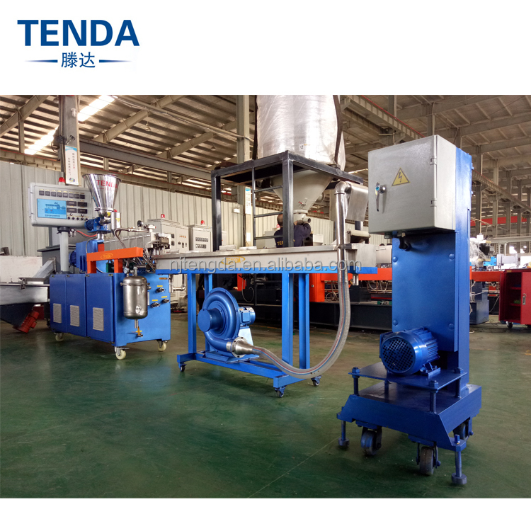 TSH-20 CE PVC/PP/PE Recycled Plastic Granules Co-rotating Twin Screw Extruder