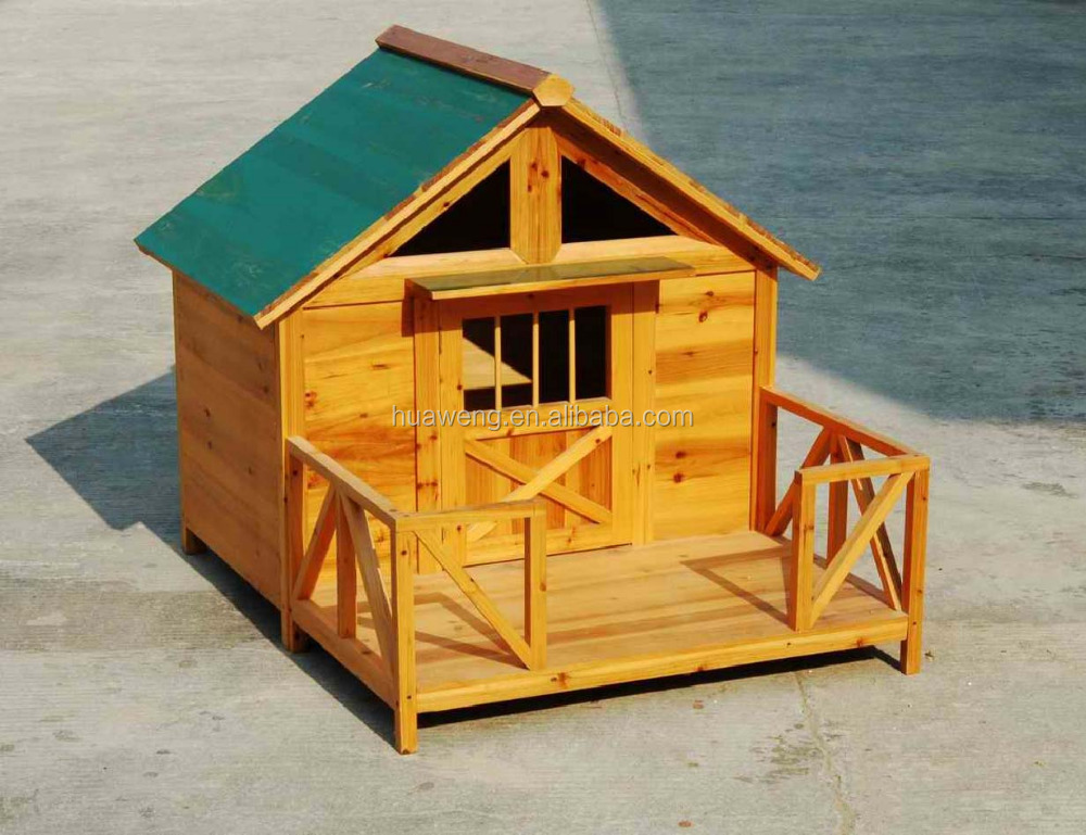 Customerized outdoor wooden dog house dog bed wooden kennel