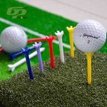 Custom 4.1/5.5/7/8.2/9.8cm plastic golf tee holder