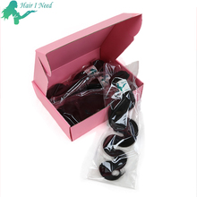 Luxury Hair Weave Bundle Extensions Packing Box with Customized Logo