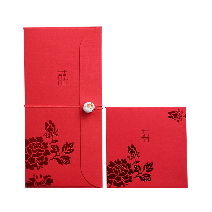 Chinese New Year custom red envelopes