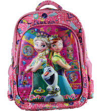 High Quality Cartoon Character Cheap Kids Trolley school bag Wheeled backpack