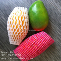 best price Wholesale Supermarket Display Protective PE Foam Sleeve Net for Mango Packing