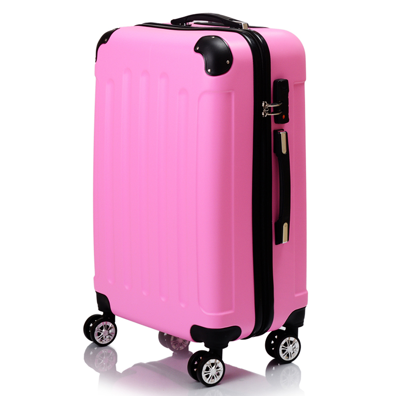 Factory 3 Pcs Luggage Set Hardside Travel Rolling Suitcase <strong>ABS</strong> with trade assurance service