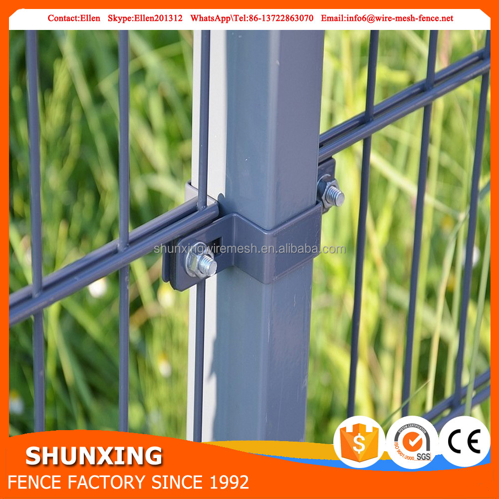 Powder coated metal fence panels double with Alibaba Payment protection