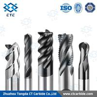Professional carbide end mill bull cutter