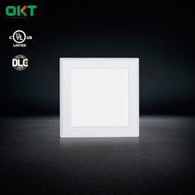 Hot-sale China Factory UL CRI>90 6inch Squrare Recessed LED Panel Light 12w