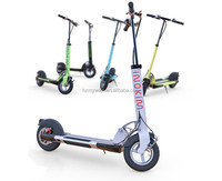 350W motor power lithium battery foldable smart mini scooter with pedals