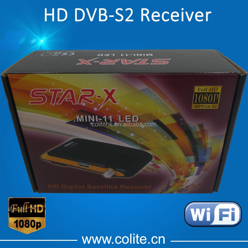Full HD MINI HD Receiver Support Wifi Biss Patch