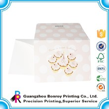 Alibaba china popular design custom cheap greeting card printing