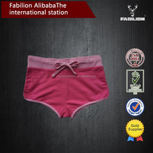 Hot sale anti-bacterial breathable women mini boxer brief for sexy underwear