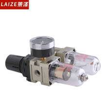 AC Series SMC type two unit pneumatic air filter regulator and air source treatment
