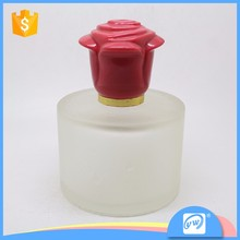 A855-100ML decorative clear refillable glass empty spray china made perfume bottle