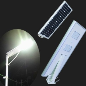 Good quality waterproof IP65 30w all in one solar led street light with pole