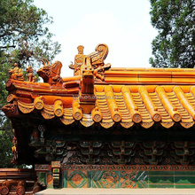 Traditional asian style chinese house roofing with factory price