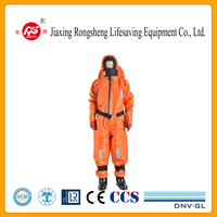 SOLAS Marine Lifesaving Immersion Suit with a pillow