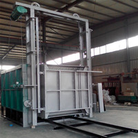 Low Energy Consumption Bogie-Hearth Gas Hardening and Tempering Electric Furnace