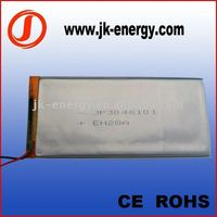 3.7V 1500mAh rechargeable polymer li-ion battery 3046101