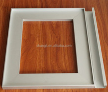 4MM insert aluminium profile cabinet door and window frame