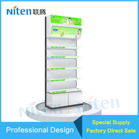 Floor Free Standing Merchandise Metal Pallet Displays for Sale L2400*W900mm Width and Pallet Rack Type Warehouse Rack
