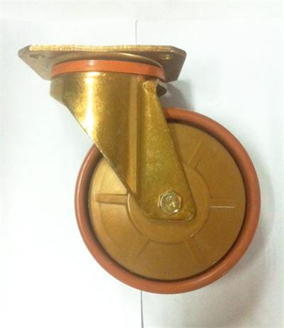 125mm swiveling /fixing caster for industrial