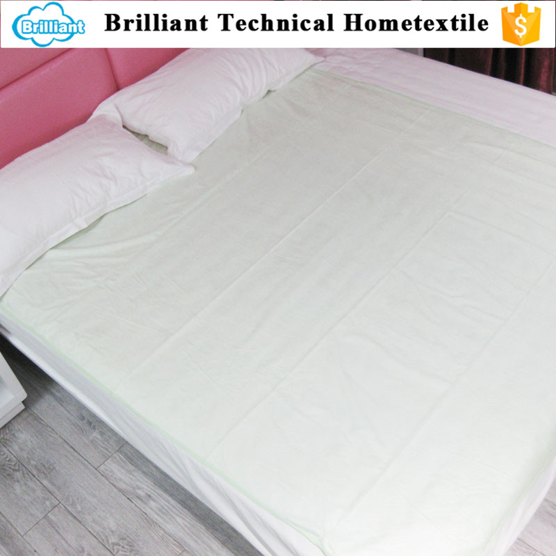 100% cotton terry cloth waterproof breathable fitted bed duvet hospital bed cover