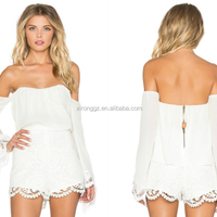 2016 Lace Tunic High Waist Romper